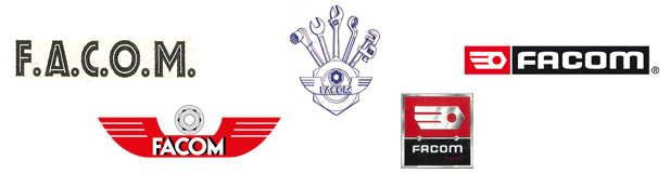 Différents Logos de la marque FACOM