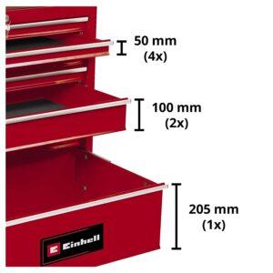 servante d atelier 7 tiroirs bt tw 150 einhell