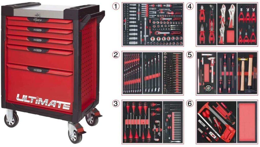 Servante KS Tools Ultimate 7 tiroirs