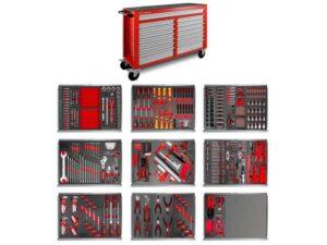 Servante d'atelier MW-Tools XXL 15 tiroirs et ses 512 outils