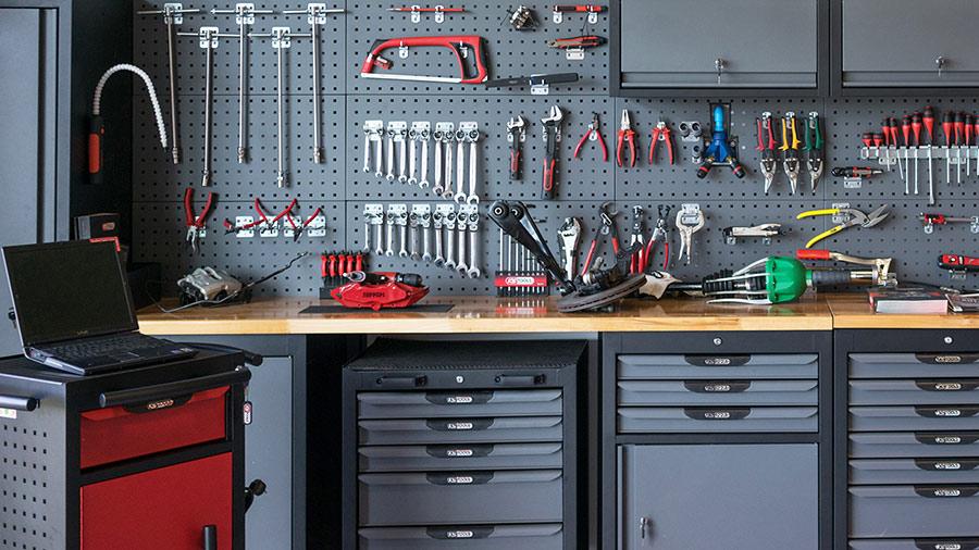 Atelier équipé KS Tools avec servantes d'atelier Ultimate