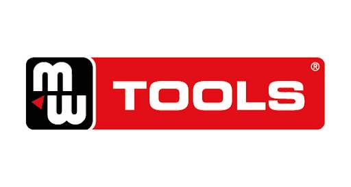 Logo MW-Tools Large sur fond rouge