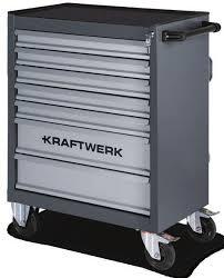 Servante d'atelier 7 tiroirs Kraftwerk B107 grise
