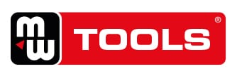 Logo MW-Tools en blanc sur fond rouge