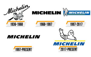 Histoire des Logo de la marque Michelin
