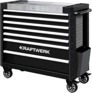 Servante d'atelier xxl Kraftwerk noir 7 tiroirs